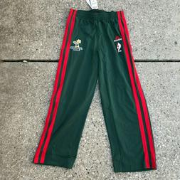 Adidas NBA Milwaukee Bucks Men's L Snap Tear Away Warm Up Pa