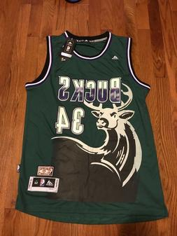 nba milwaukee bucks ray allen hardwood classic
