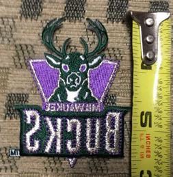 NBA Milwaukee Bucks Team Emblem Logo Patch