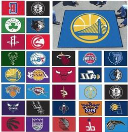 NBA Teams - 5' X 6' Tailgater Area Rug Floor Mat