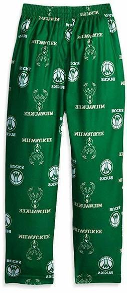 NBA Toddler Milwaukee Bucks Sleepwear Pajamas Pant, 2T, Dark