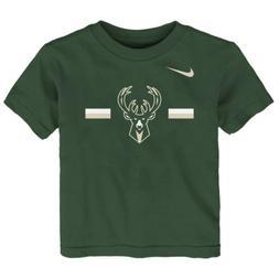 Nike NBA Toddlers Milwaukee Bucks Essential Logo Tee Shirt