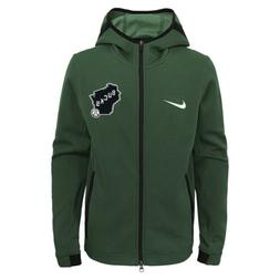 Nike NBA Youth Milwaukee Bucks Showtime Full Zip Hoodie
