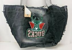 NCAA Milwaukee Bucks Shoulder Bag Tote Handbag Distressed De