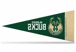 "New Milwaukee Bucks NBA Mini Pennant 9""x4"", Felt, Made in US"