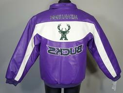 NEW Vintage NIKE NBA Basketball Milwaukee Bucks Jacket Youth