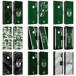 OFFICIAL NBA MILWAUKEE BUCKS LEATHER BOOK WALLET CASE FOR XI