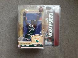 Oscar Robertson Milwaukee Bucks McFarlane NBA Legends Series