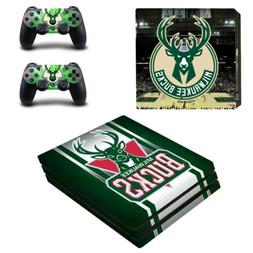 PS4 Pro Console Controllers Vinyl Skin Stickers Decals Milwa
