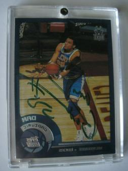 Topps Rookie Card Autograph Dan Gadzuric Milwaukee Bucks Car