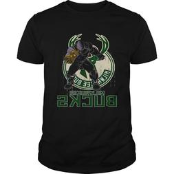 Thanos Milwaukee Bucks Avenger Endgame T-shirts Tee US 100%