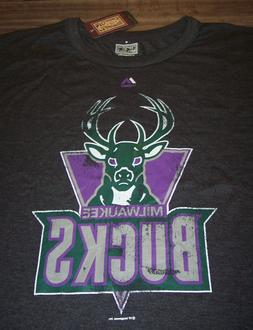 VINTAGE STYLE MILWAUKEE BUCKS NBA BASKETBALL T-Shirt 3XL XXX