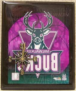 Wall Clock NBA Milwaukee Bucks NEW decorated box battery pow