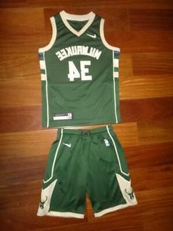 Youth Nike Giannis Antetokounmpo Milwaukee Bucks Swingman Je